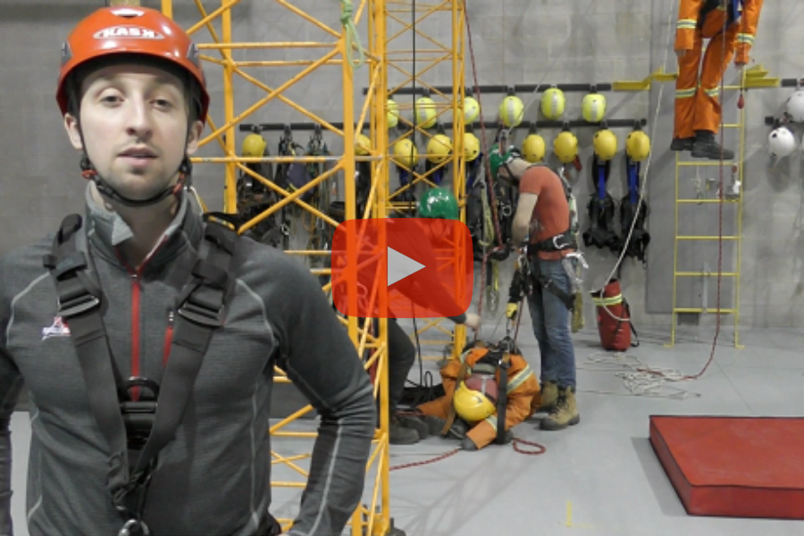 Fall protection and rescue training