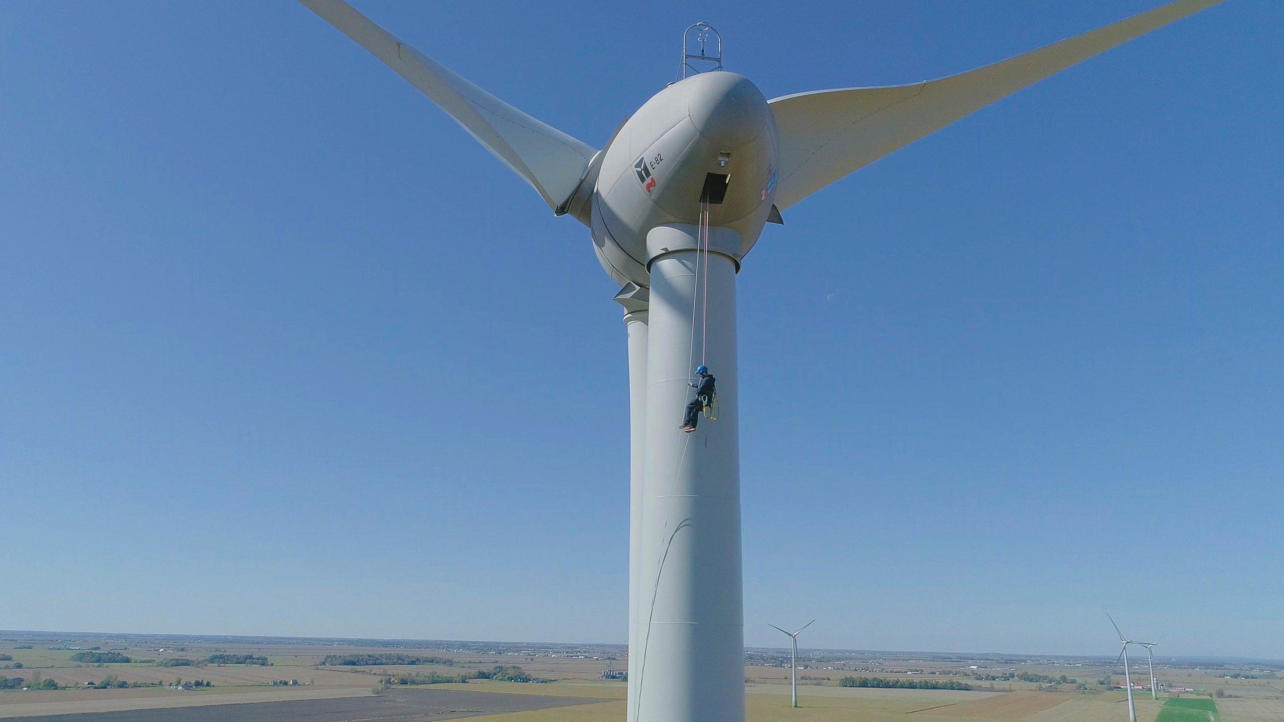 Sauvetage pour éolienne